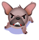 Mugsy Facebook sticker #2