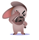 Mugsy Facebook sticker #5