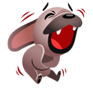 Mugsy Facebook sticker #6