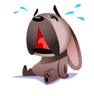 Mugsy Facebook sticker #8