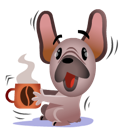 Mugsy Facebook sticker #17
