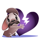 Mugsy Facebook sticker #26