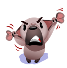 Mugsy Facebook sticker #27