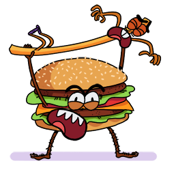 Naughty Foods Facebook sticker #6