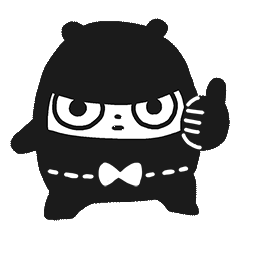 Ninja-Bär Facebook sticker #1