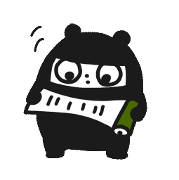 Ninja-Bär Facebook sticker #10