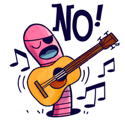 ¡No! Facebook sticker #3