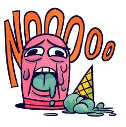 ¡No! Facebook sticker #5