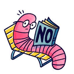 ¡No! Facebook sticker #21