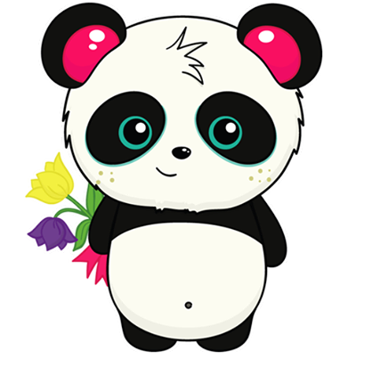 Facebook Pandi stickers