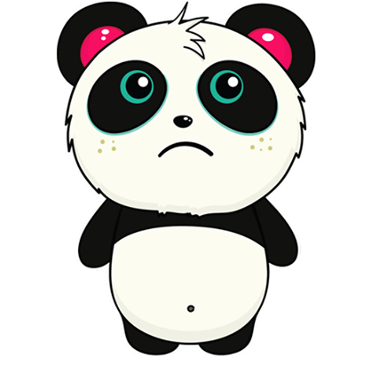 Pandi Facebook sticker #2