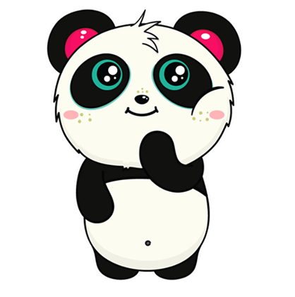 Pandi Facebook sticker #5