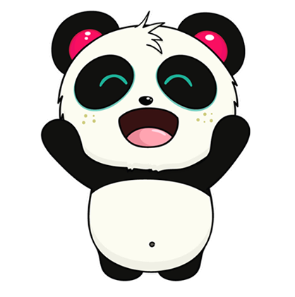 Pandi Facebook sticker #6