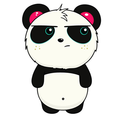 Pandi Facebook sticker #8