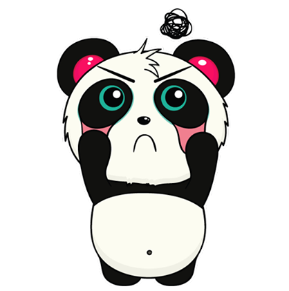 Pandi Facebook sticker #26