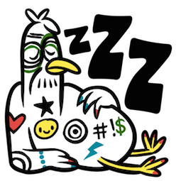 Party Fowls Facebook sticker #10