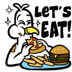 Party Fowls Facebook sticker #12