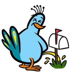 Facebook / Messenger Party Fowls Sticker #14