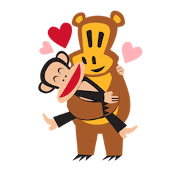 Paul Frank Facebook sticker #10