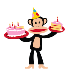 Paul Frank Facebook sticker #17