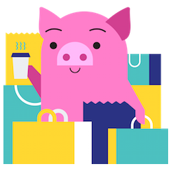 Pig E. Banks Facebook sticker #2