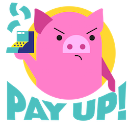 Pig E. Banks Facebook sticker #3