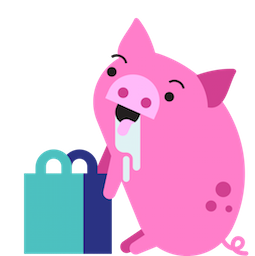 Pig E. Banks Facebook sticker #20
