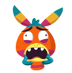 Piñata Poi Facebook sticker #10