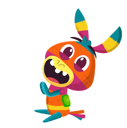 Piñata Poi Facebook sticker #11