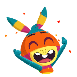 Piñata Poi Facebook sticker #14