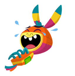 Facebook / Messenger Piñata Poi sticker #15