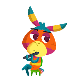 Facebook / Messenger Piñata Poi sticker #18