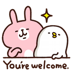 Piske & Usagi Facebook sticker #18