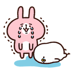 Piske & Usagi Facebook sticker #23