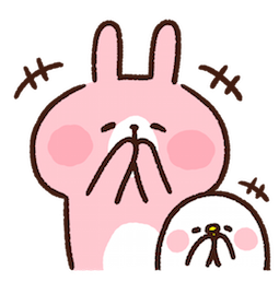 Piske & Usagi Facebook sticker #27