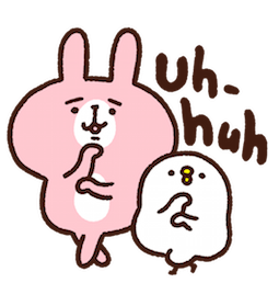 Piske & Usagi Facebook sticker #38