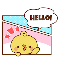 Facebook / Messenger Piyomaru and Friends sticker #9