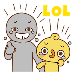Facebook sticker Piyomaru and Friends 10