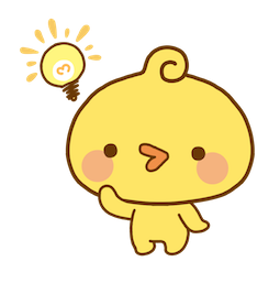 Playful Piyomaru Facebook sticker #10