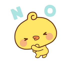 Playful Piyomaru Facebook sticker #12