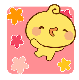 Playful Piyomaru Facebook sticker #15