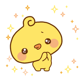 Playful Piyomaru Facebook sticker #16
