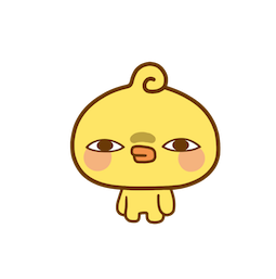 Playful Piyomaru Facebook sticker #19