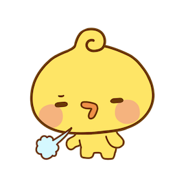Playful Piyomaru Facebook sticker #20