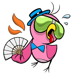 Plum Facebook sticker #5