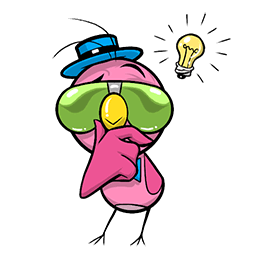 Plum Facebook sticker #24