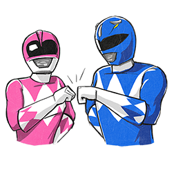 Power Rangers Facebook sticker #2