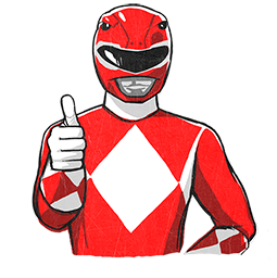 Power Rangers Facebook sticker #3