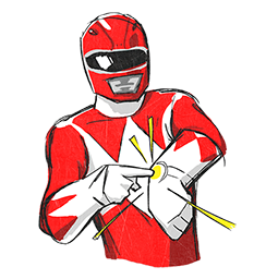 Power Rangers Facebook sticker #10
