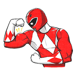 Power Rangers Facebook sticker #11